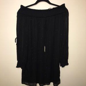 • Zara Off-the-Shoulder Dress •